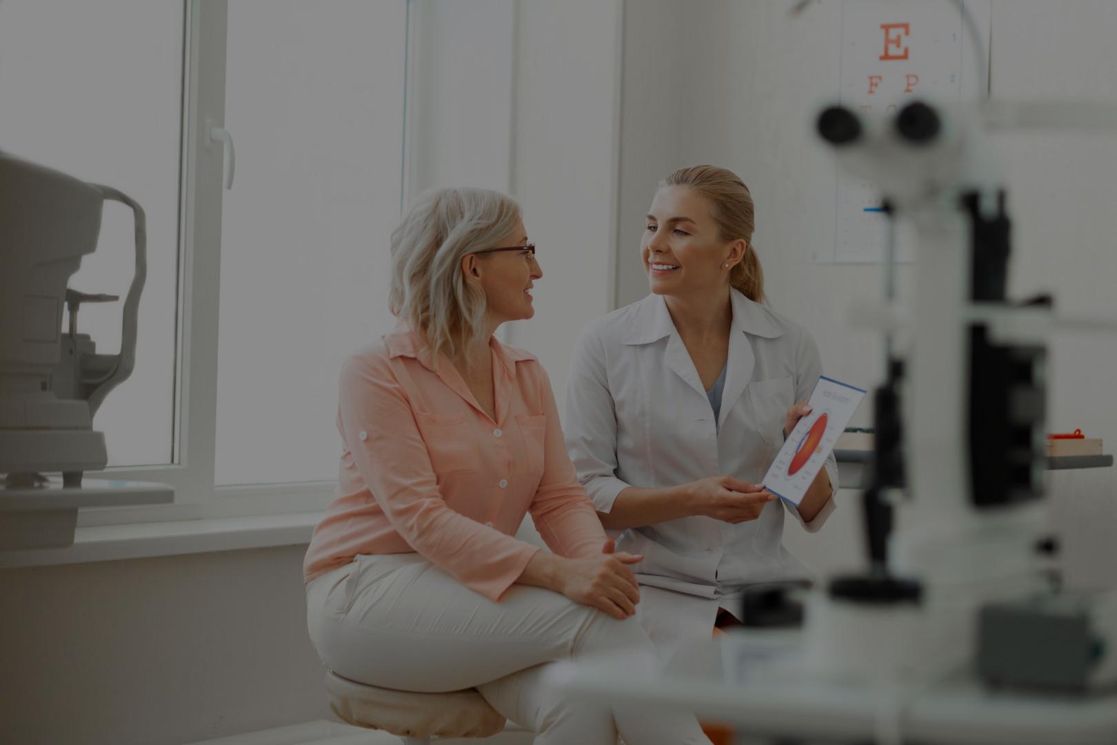 Doświadczony okulista i optometrysta<br> profesjonalne badanie wzroku